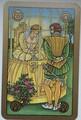 """Der goldene Käfig (aus dem """"Symbolon""""-Kartendeck von Peter Orban/Ingrid Zinnel/Thea Weller)"""