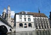 Grossmünster, Helmhaus und Wasserkirche