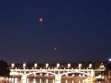 """""""Blutmond"""" und Mars"""