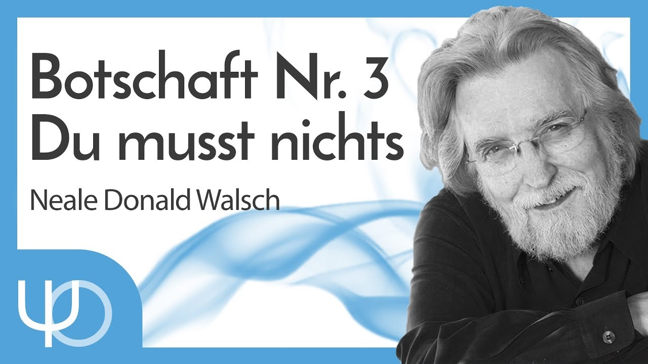 Du musst nichts tun - Neale  Donald Walsh