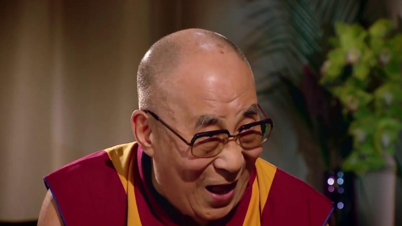 lachender Dalai Lama