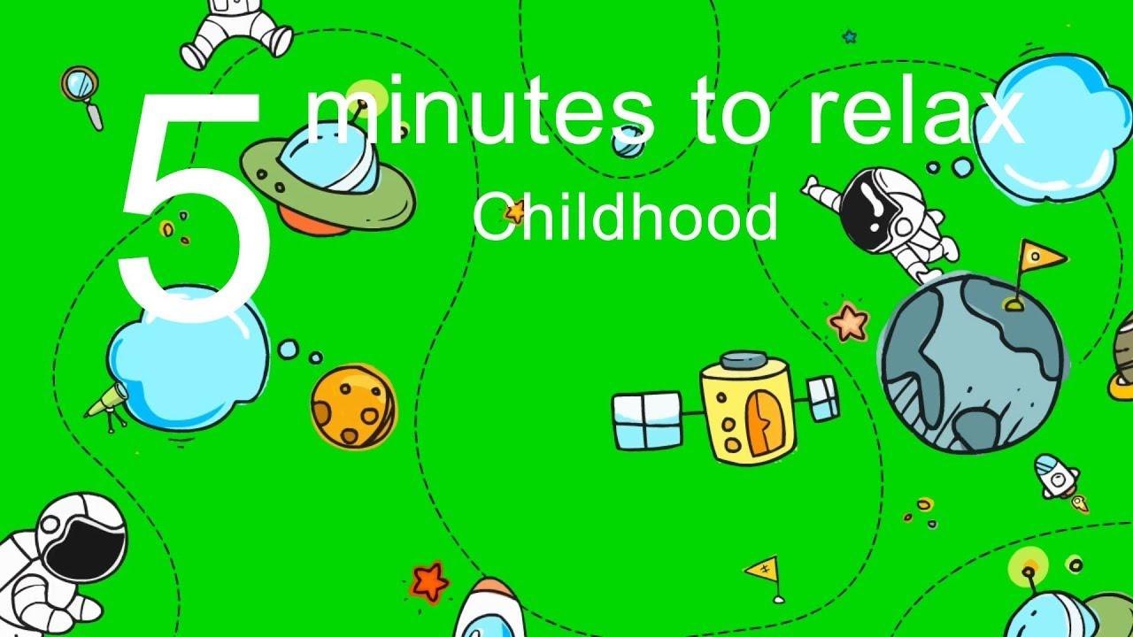 5 Minutes to Relax: Childhood Videos with Relaxing Music for Stress Relief, Relaxation, Sleep (5016)